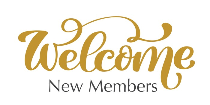 Welcome New Members