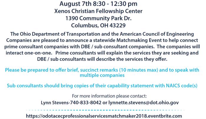 2018 Matchmaker event