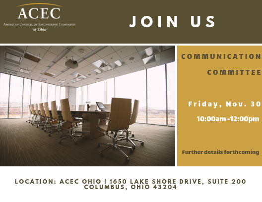ACEC Ohio Communication Committee